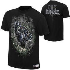 "Undertaker ""No Grave Can Hold My Soul"" Authentic T-Shirt - #WWE"