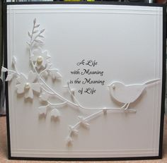 luv the simplicity of the Memory Box die cuts on this all white card...