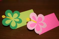 tropical theme for classroom' | Cricut in my Classroom: Luau Place Cards