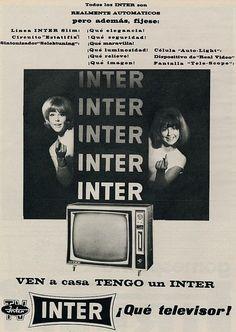 Televisor Inter. Año 1963 !!!como el mio!!!