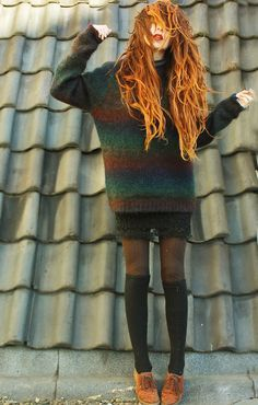Over-sized Mystery Sweaters: All Hipster Colors - All Grunge Patterns