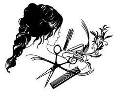 Vinilo decorativo especial para el interior de peluquerías en gran formato 04975