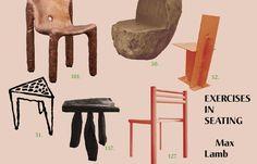 5VIE ART+DESIGN - Exercises in seating . Max Lamb