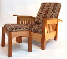 metro morris chair by #stickleyfurniture. this is a 'metro' take
