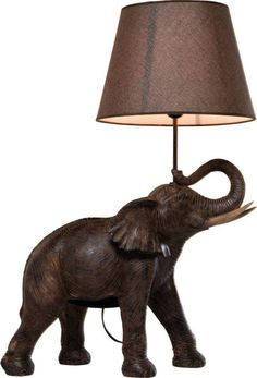 Shop our exclusive range of French table lamps and bedside lamps, designed to inspire. Browse our stunning table lamps online today Kare Design, Eclectic Table Lamps, Elephant Lamp, Elephant Table, Off White Walls, Jungle Room, Animal Magic, Modern Retro, Lights