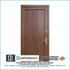 0813-1519-5124 || 0822-4258-1403  Kami menyediakan berbagai desain pintu dari kayu terbaik hasil hutan Indonesia, Anda bisa memesan pintu dengan desain yang anda inginkan. Kunjungi website kami untuk melihat lebih banyak desain pintu.  PILIHAN KAYU - JATI - MERBAU - KAMPER - MERANTI - MAHONI - LABAN - MANGLID - TISUK/WARU - AKASIA - DLL  #pintukayu #desainpintu #pintuminimalis #pintukayusolid #desainpintukayu #pintukayujati #woodart #interiordesign #woodworking #pintukayumerbau Custom Wood Doors, Wooden Doors, Front Door Design Wood, Black Front Doors, Tall Cabinet Storage, Interior, House, Selfie, Furniture