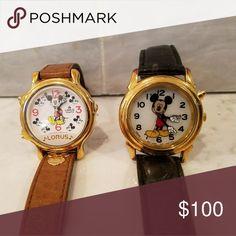 Vintage Lorus Disney Watches Excellent condition.  Need batteries lorus Accessories Watches