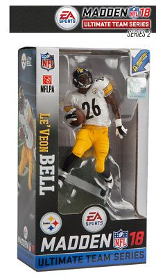 4a11e54685b Sports 754  Le Veon Bell (Pittsburgh Steelers) Madden Nfl 18 Series 2  Mcfarlane -  BUY IT NOW ONLY   13.49 on  eBay  sports  madden  series   mcfarlane