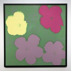 Flowers by Andy Warhol Bratislava Slovakia, Andy Warhol, Modern Contemporary, Gallery, Flowers, Roof Rack, Royal Icing Flowers, Flower, Florals