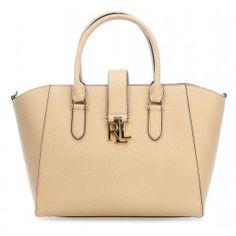 Carrington Bethany Handtasche genarbtes Rindsleder beige