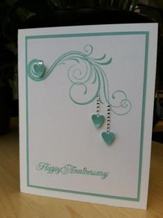 23rd Anniversary Sue & Larry by rdm - Cards and Paper Crafts at Splitcoaststampers
