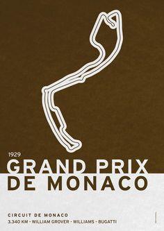 Vintage Digital Art - Legendary Races - 1929 Grand Prix De Monaco by Chungkong Art Le Mans, Vintage Wall Art, Vintage Posters, Monaco Grand Prix, Racing Events, Vintage Racing, Art Pages, Race Cars, Dream Cars