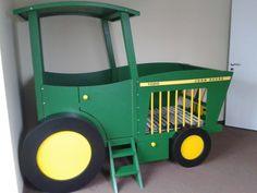 Kinderbett baggerbett  Kinderbetten - Baggerset für Kinderbett Spielbett Bagger Bett - ein ...
