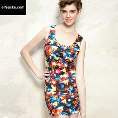 Womens Nail Drill  Vintage Dress
