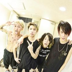 """This rock band is called """"One Ok Rock"""" Their songs always give me energy"""