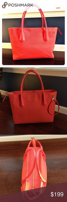 Dagne Dover Legend Tote - Vermillion. #shopmycloset #poshmark #fashion #shopping #style #forsale #Dagne Dover #Handbags