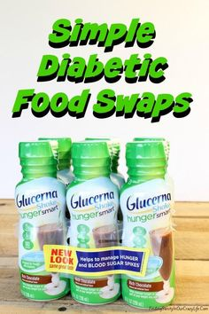Manage your diabetes with these simple diabetic food swaps and discover how you can mange hunger and stay full longer. #GlucernaHungerSmart #Ad #Cbias
