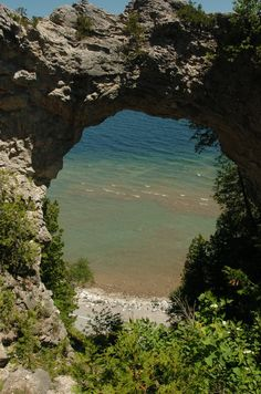 Mackinac Island, MI. Loved this place. Seems everyone takes this same picture when they go.
