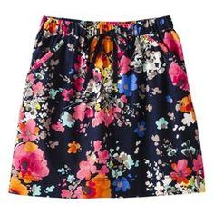 Floral Drawstring Skirt - Target