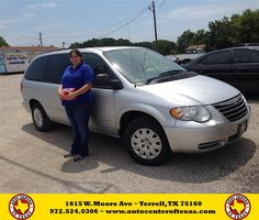 https://flic.kr/p/v8Yjdk | #HappyAnniversary to Melissa Briggs on your 2007 #Chrysler #Town & Country Lwb from Kara Short at Auto Center of Texas! | www.autocentertexas.com/?utm_source=Flickr&utm_medium...