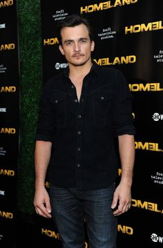 Rupert Friend - Homeland #SHOemmyFYC event. Story Of Peter, Carrie Mathison, Rupert Friend, Lunch Time, Face Claims, Homeland, Gorgeous Men, Love Story, Movie Tv