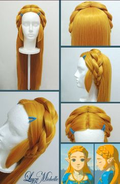 I m going to use epiccosplay wigs Athena in the color Autumn Gold with 15 ·  Princess Zelda CostumeLegend ... 5ab2d6a60