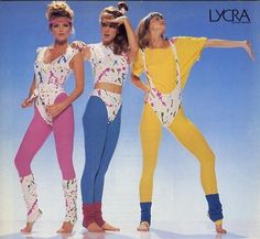 Legwarmers & Lycra Leotards: Totally Rad Aerobics Fashions of the - Flashbak Costume 1990s Fashion Trends, 80s And 90s Fashion, Fashion Fashion, Fashion Women, Fitness Fashion, 80s Fashion Party, Fitness Wear, Retro Fashion, 80s Party Outfits