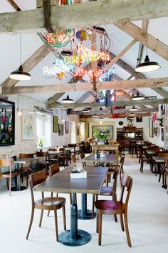 Roth Bar & Grill, Somerset, UK #deco #restaurant #industriel