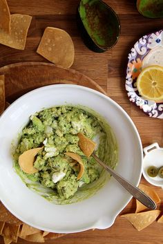 Goat Cheese Roasted Corn Guacamole by joy the baker, via Flickr