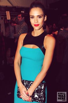 Jessica Alba - love, love, love this dress and whole look