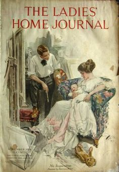 1914 cover. And when I mean I have it, I really do have the actual cover of the magazine. Yay for me!
