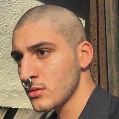 """mecbdx: """" Your darkest side is here… """" Septum Piercings, Piercing Nasal, Mens Piercings, Double Cartilage Piercing, Septum Ring, Peircings, Tragus, Nose Ring Men, Multiple Ear Piercings"""