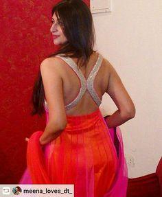 Hindi Actress, Bollywood Actress, Sexy Blouse, Saree Blouse, India Beauty, Indian Actresses, Blouse Designs, Beauty Women, Backless