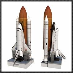 Space Shuttle Atlantis Ver.2 Free Paper Model Download - http://www.papercraftsquare.com/space-shuttle-atlantis-ver-2-free-paper-model-download.html