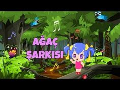 Ağaç Şarkısı (Sözlü Okul Şarkıları) #ağaç #ormanhaftası #ağaçgünü #belirligünvehaftalar Baby Songs, Kids Songs, Forest School, Pre School, Activities For Kids, Coloring Pages, Baby Kids, Martini, Classroom