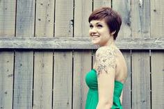 shoulder cap tattoo designs - Google Search