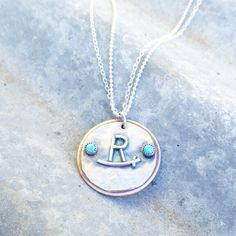 Ranch brand custom necklaces by The Classy Trailer On FB and Instagram @theclassytrailer