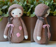 This is a crochet pattern (PDF file) NOT a finished doll you see on the photos! This pattern is available in English and Dutch.    Let me