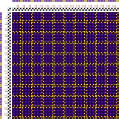 draft image: Figurierte Muster Pl. XVII Nr. 8, Die färbige Gewebemusterung, Franz Donat, 2S, 2T