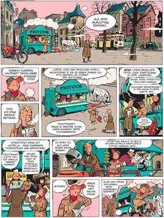 Pikon ja Fantasion uudet seikkailut 2: Tummanvihreä pikkolopoika. #piko #fantasio #egmont #sarjakuva #sarjis