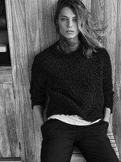 Daria Werbowy for Mango Fall 2014