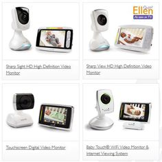 In search for a baby video monitor for your #babyregistry? We have many award-winning options to choose from.