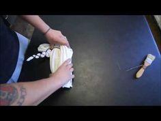 Process and Revea of a lTie Dye Mandala Tapestry - YouTube