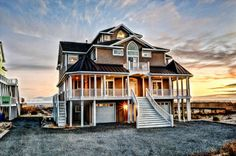 634 Hampton Colony, N. Topsail Beach, NC; 8 Bedroom Oceanfront Home with Hot Tub!