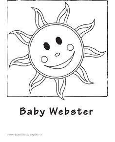 Baby Einstein Coloring Book All 20 Pages Activities Pinterest