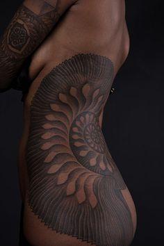 Thomas Hooper's Art: Tattoo on torso