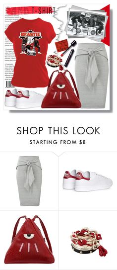 """""""Beastie Boys"""" by queenvirgo ❤ liked on Polyvore featuring adidas, bandtshirt and bandtee"""