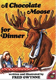 Awesome book for idioms, homophones! Susanna Leonard Hill: Perfect Picture Book Friday - A Chocolate Moose For Dinner Word Study, Word Work, Chocolate Moose, Chocolate Humor, Multiple Meaning Words, 4th Grade Reading, Thing 1, Mentor Texts, Teaching Reading