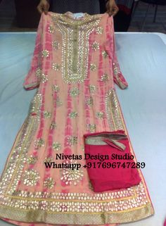 Hi we do customize party wear Punjabi salwar suit, Can be made in any color combination, Embroidery work or Fabric, bridal suit, Punjabi suit, Party wear Salwar suit, Customize Patiala salwar suit , salawr suit- salwar- suit reach us at Whatsapp:-  +917696747289  E-mail:- nivetasfashion@gmail.com