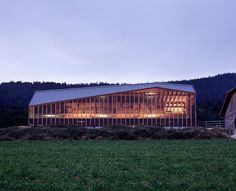 Cow Shed, Lignières, Switzerland by LOCALARCHITECTURE